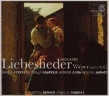Johannes Brahms (1833-1897): Liebeslieder-Walzer op.52 & 65, CD