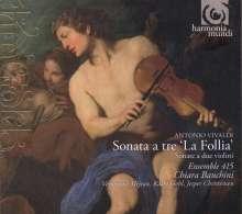 Antonio Vivaldi (1678-1741): Sonaten für 2 Violinen & Bc, CD
