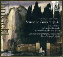 "Charles Alkan (1813-1888): Cellosonate E-Dur op.47 ""Sonate de concert"", CD"