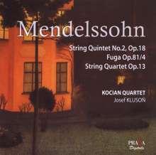 Felix Mendelssohn Bartholdy (1809-1847): Streichquintett Nr.2 op.87, Super Audio CD