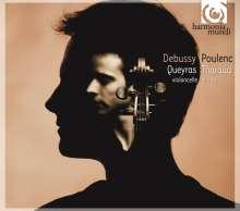 Claude Debussy (1862-1918): Sonate für Cello & Klavier (nach der Violinsonate), CD
