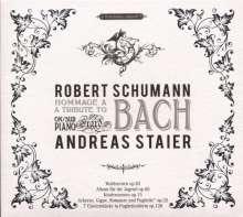 """Robert Schumann (1810-1856): Klavierwerke """"Hommage a Bach"""", CD"""