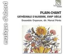 Plain Chant aus Auxerre im 18.Jh., CD