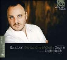 """Franz Schubert (1797-1828): Lied-Edition Vol.3 (Matthias Goerne) - """"Die schöne Müllerin"""", CD"""