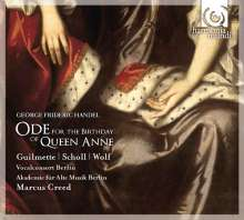 Georg Friedrich Händel (1685-1759): Ode for the Birthday of Queen Anne HWV 74, CD
