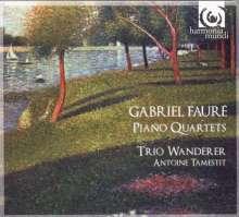 Gabriel Faure (1845-1924): Klavierquartette Nr.1 & 2, CD