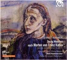 Ernst Krenek (1900-1991): 6 Motetten nach Worten von Franz Kafka op.169, CD