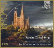 Johannes Brahms (1833-1897): Chorlieder opp.17,42,62,104, 2 CDs
