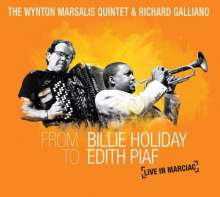 Wynton Marsalis & Richard Galliano: From Billie Holiday To Edith Piaf: Live In Marciac (CD+DVD), CD