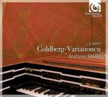 Johann Sebastian Bach (1685-1750): Goldberg-Variationen BWV 988, 1 CD und 1 DVD