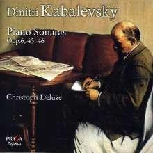 Dimitri Kabalewsky (1904-1987): Klaviersonaten Nr.1-3, SACD