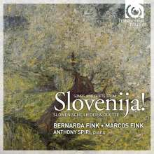 Bernarda Fink: Slovenija!-Slowen.Lieder & Duette, CD