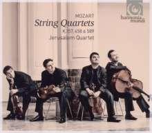 Wolfgang Amadeus Mozart (1756-1791): Streichquartette Nr.4,17,22, CD