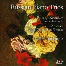 Kinsky Trio Prague - Russian Piano Trios, Super Audio CD