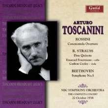 Arturo Toscanini - The Complete Concert (22.10.38), CD