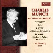 Charles Munch dirigiert das NBC Symphony Orchestra, CD