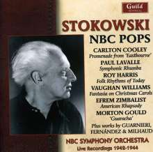 Leopold Stokowski dirigiert das NBC Symphony Orchestra, CD
