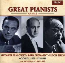 Great Pianists Vol.2, CD