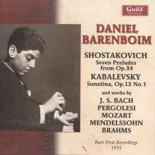 Daniel Barenboim - Rare Recordings, CD
