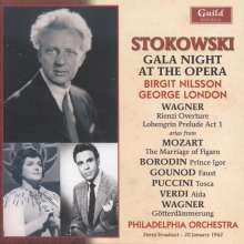 Leopold Stokowski - Gala Night at the Opera, CD