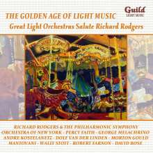 The Golden Age Of Light Music: Great Light Orchestras Salute Richard Rodgers, CD