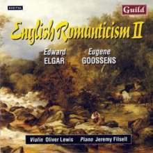 Eugene Goossens (1893-1962): Violinsonate Nr.2, CD