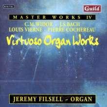 Jeremy Filsell - Virtuoso Organ Works, CD