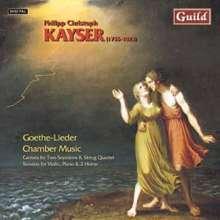 Philipp Christoph Kayser (1755-1823): Sonaten Nr.1 & 2 für Klavier,Violine,2 Hörner, CD