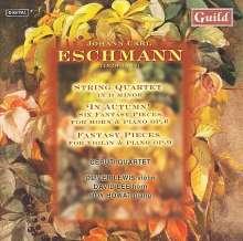 Johannes Carl Eschmann (1826-1882): Streichquartett d-moll, CD