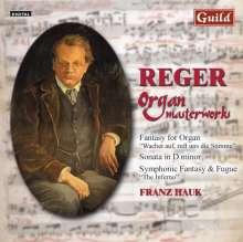 Max Reger (1873-1916): Orgelwerke, CD