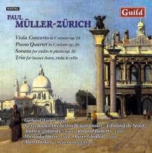 Paul Müller-Zürich (1898-1993): Violakonzert op.24, CD