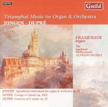 Joseph Jongen (1873-1953): Symphonie Concertante mit Orgel op.81, CD