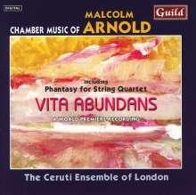 Malcolm Arnold (1921-2006): Streichquartette Nr.1 & 2, CD