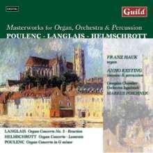 """Robert M. Helmschrott (geb. 1938): Konzert für Orgel,Streichorchester & Percussion """"Lamento"""", CD"""