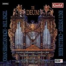Paul Engel (geb. 1949): Te Deum für Chor,9 Blechbläser,Orgel & Schlaginstrumente, CD