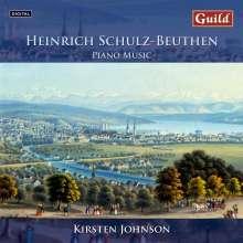 Heinrich Schulz-Beuthen (1838-1915): Klavierwerke, CD