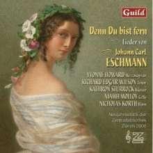 Johannes Carl Eschmann (1826-1882): Lieder, CD
