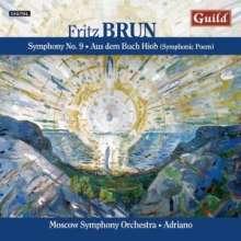 Fritz Brun (1878-1959): Symphonie Nr.9 d-moll (1919), CD