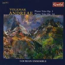 Volkmar Andreae (1879-1962): Klaviertrios opp.1 & 14, CD