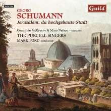"""Georg Schumann (1866-1952): Geistliche Chorwerke """"Jerusalem, du hochgebaute Stadt"""", CD"""