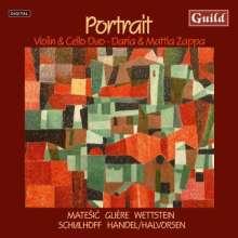Duo Daria & Mattia Zappa - Portrait, CD