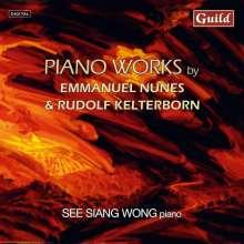 Emmanuel Nunes (1941-2012): Litanies de Feu et de la Mer Nr.1 & 2, CD