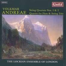 Volkmar Andreae (1879-1962): Streichquartette Nr.1 & 2, CD