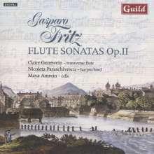 Gaspard Fritz (1716-1783): Flötensonaten op.2 Nr.1-6, CD
