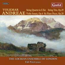 Volkmar Andreae (1879-1962): Streichtrio op.29, CD
