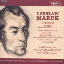 Czeslaw Marek (1891-1985): Orchesterwerke, 2 CDs