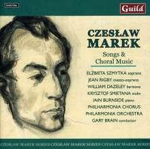 Czeslaw Marek (1891-1985): Lieder & Chorwerke, 2 CDs