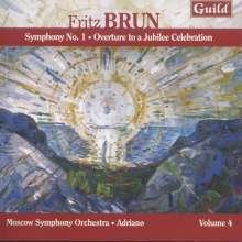Fritz Brun (1878-1959): Symphonie Nr.1, CD