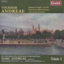 Volkmar Andreae (1879-1962): Symphonie F-Dur, CD