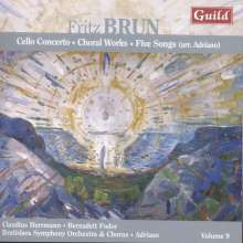 Fritz Brun (1878-1959): Cellokonzert, CD